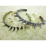 Bold Fashion Vintage Punk Jeruk Cuff Bracelets for Ladies