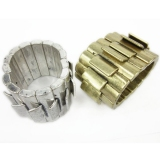 Vintage Punk Feel Cuff Bracelets for Ladies