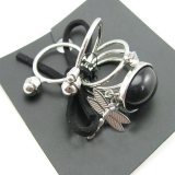 New Dragonfly Black 5pcs Ring Set