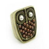 Lovely Owl Vintage Animal Ring