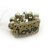 Antique Adjustable Love Band Ring