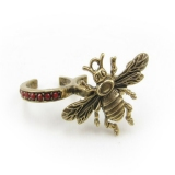 Vintage Insect Animal Double Ring
