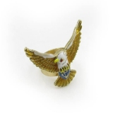Unique Fashionable Hawk Cocktail Ring