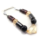 Bold Fashion Luxury Geometrical Beads Necklace