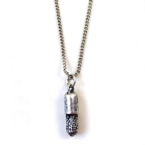 Vintage Silver Plated Pendant Chain Necklace