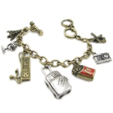 Fashion Bronze Charm Bracelets