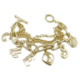 Fashion Golden GUESS Link Bracelets