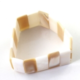 Fashion Natural Polished Shells Link Bracelets