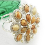 Fashion Rhinestone Bangle Bracelets For Ladies