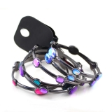 Multi-layer Fashion Multicolor Gemstone Bangle Bracelet