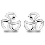 Simple Exquisite 925 Sterling Silver Stud Earring
