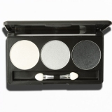 Professional 3 Colors Shimmer Makeup Eyeshadow Palette