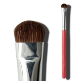 Fresh Pink Pony Hair Elaborate Eyeshadow Brush
