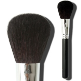 Natural Wool Black Ferrule Powder Brush