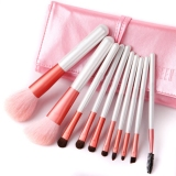 Professional 10Pcs Pearl White Brush Set