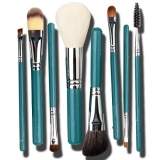 Blue 8 Pcs Synthetic Fibre Brush Set