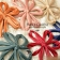 Fashion Big Flower Style Colorful Butterfly Knot Hair Clips
