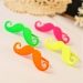 Punk Personalized Moustache Rhinestone Band Ring Jewelry