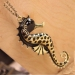 Lovely Vintage Sea Horse Pendant Necklace