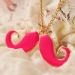 Fashion Big Beard Long Pendant Sweater Necklace For Ladies