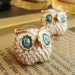 European Style Cute Big Eyes Owl Stud Earring