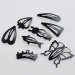 Korea Style Fashion Black Multi-shape Hair Clip