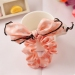 Fashion Pure Chiffon Dot Bowknot Ponytail Holder