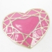 Fashion Pink Heart Band Rings