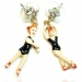 Fashion Human Shape Drop Earrings