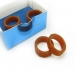 Elegant Simple Band Ring 4pcs Set With Box