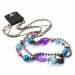 Muticolor Rhinestone Alloy String & Strand Necklace