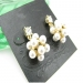 Elegant Pearl Stud Earrings