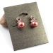 Lovely Fashion Rhinestone Pearl Stud Earring