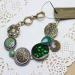 Fashion Green Drop Charm Bracelets