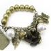 Vintage Bronze Charm Bracelets