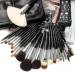 Top Wolf Hair 22 Pcs Makeup Brush Set